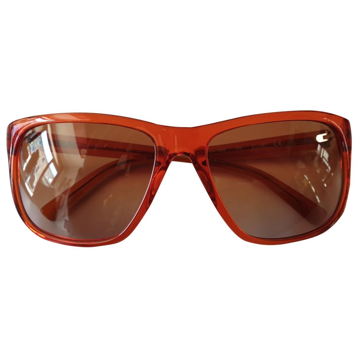 Calvin Klein \N Sonnenbrillen in  Orange Kunststoff