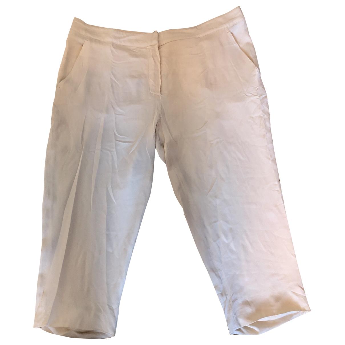 Pantalon corto de Seda Max Mara
