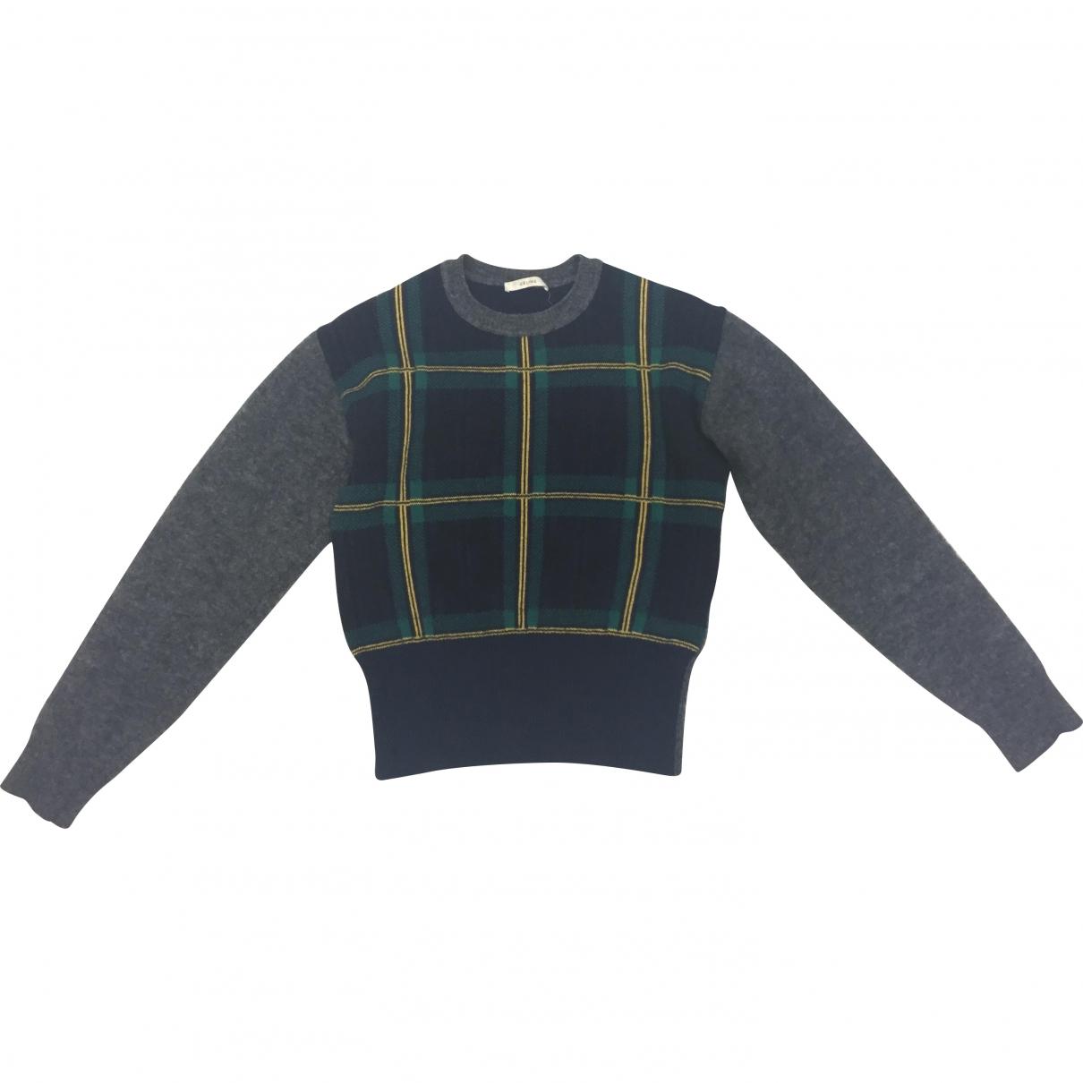 Celine \N Pullover in  Bunt Wolle