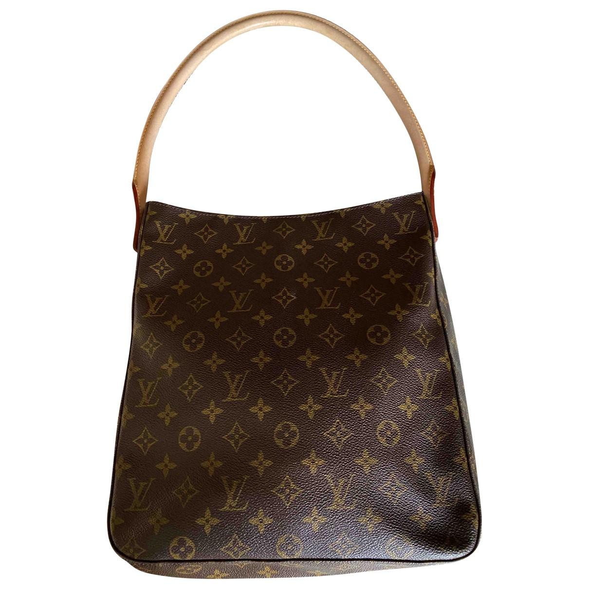 Louis Vuitton - Sac a main Looping pour femme en toile