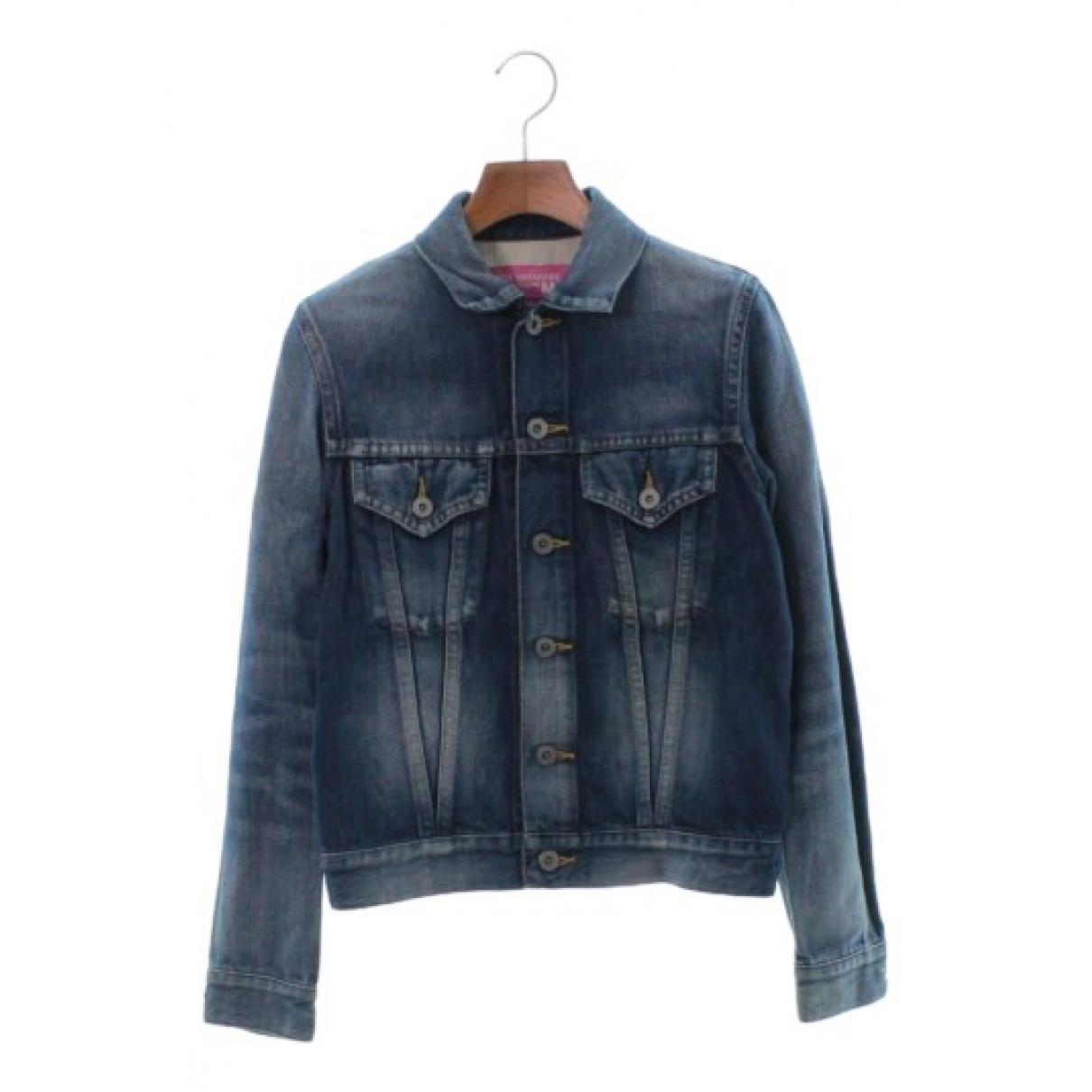Junya Watanabe \N Jacke in  Blau Denim - Jeans