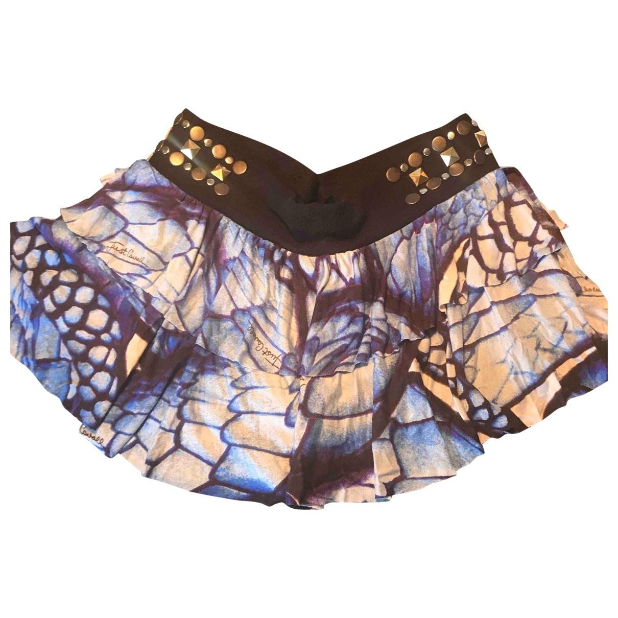 Just Cavalli \N Cotton - elasthane skirt for Women 44 IT