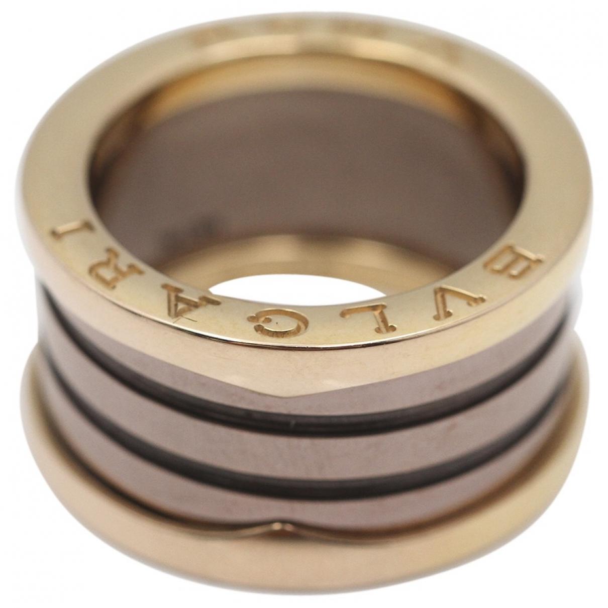 Bvlgari - Bague   pour femme en or rose - metallise