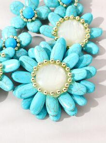 Turquoise Decor Necklace