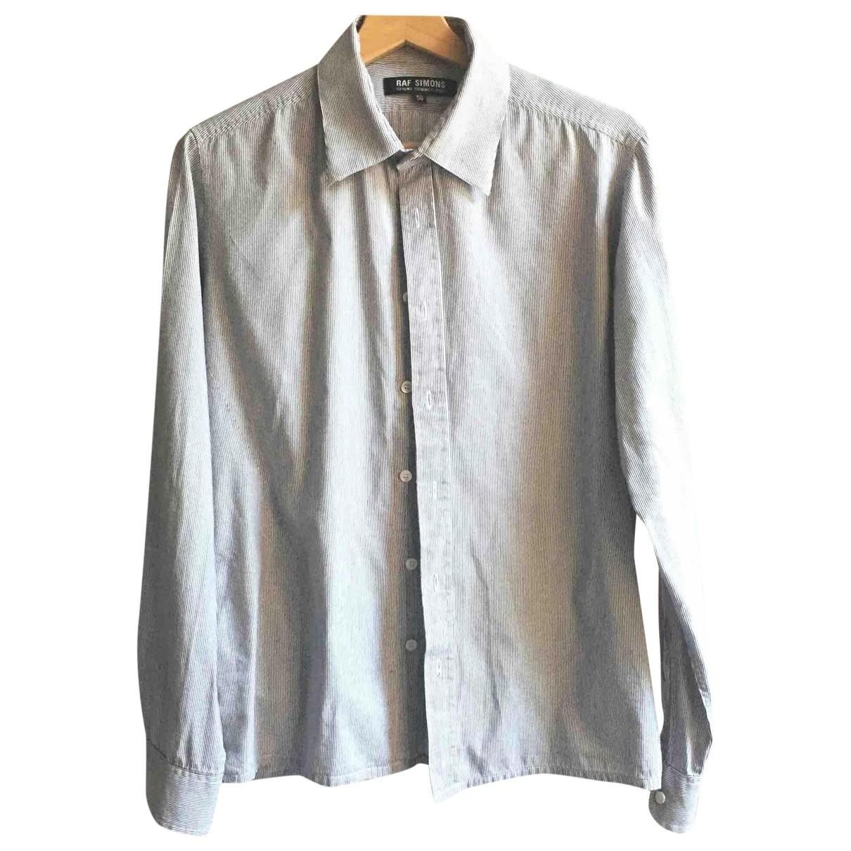 Raf Simons \N Hemden in  Grau Baumwolle