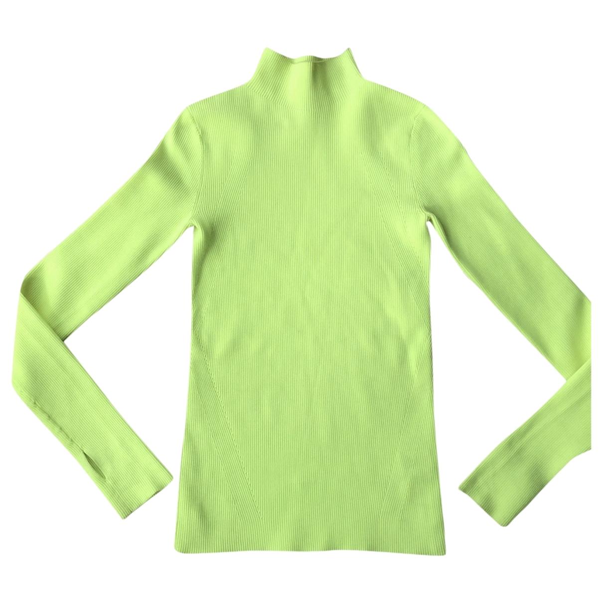 Helmut Lang - Pull   pour femme - vert