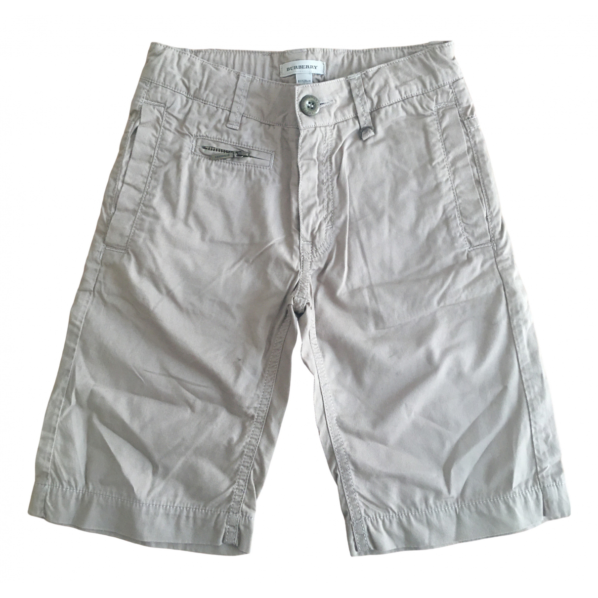 Burberry \N Camel Cotton Shorts for Kids 8 years - until 50 inches UK