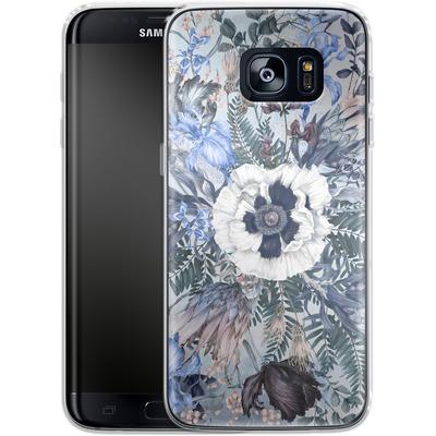Samsung Galaxy S7 Edge Silikon Handyhuelle - Frost von Stephanie Breeze