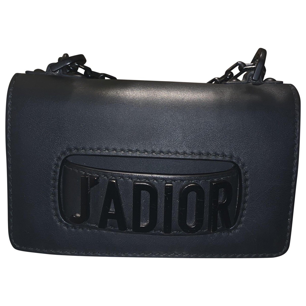 Dior J'adior Black Leather handbag for Women \N