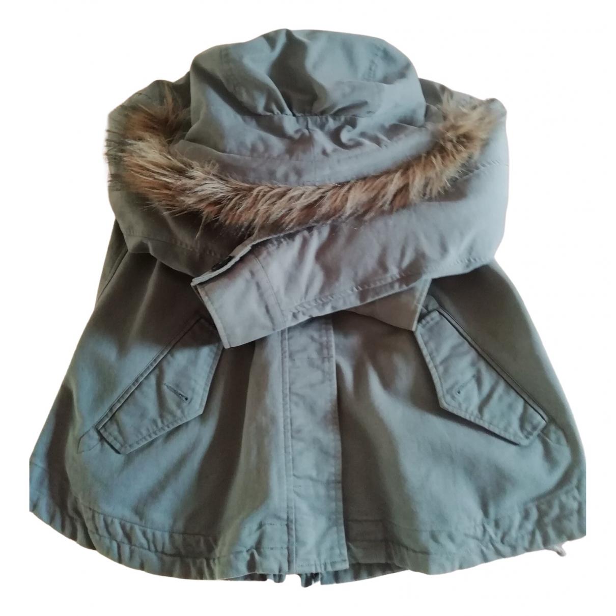 Comptoir Des Cotonniers \N Grey Cotton coat for Women 34 FR