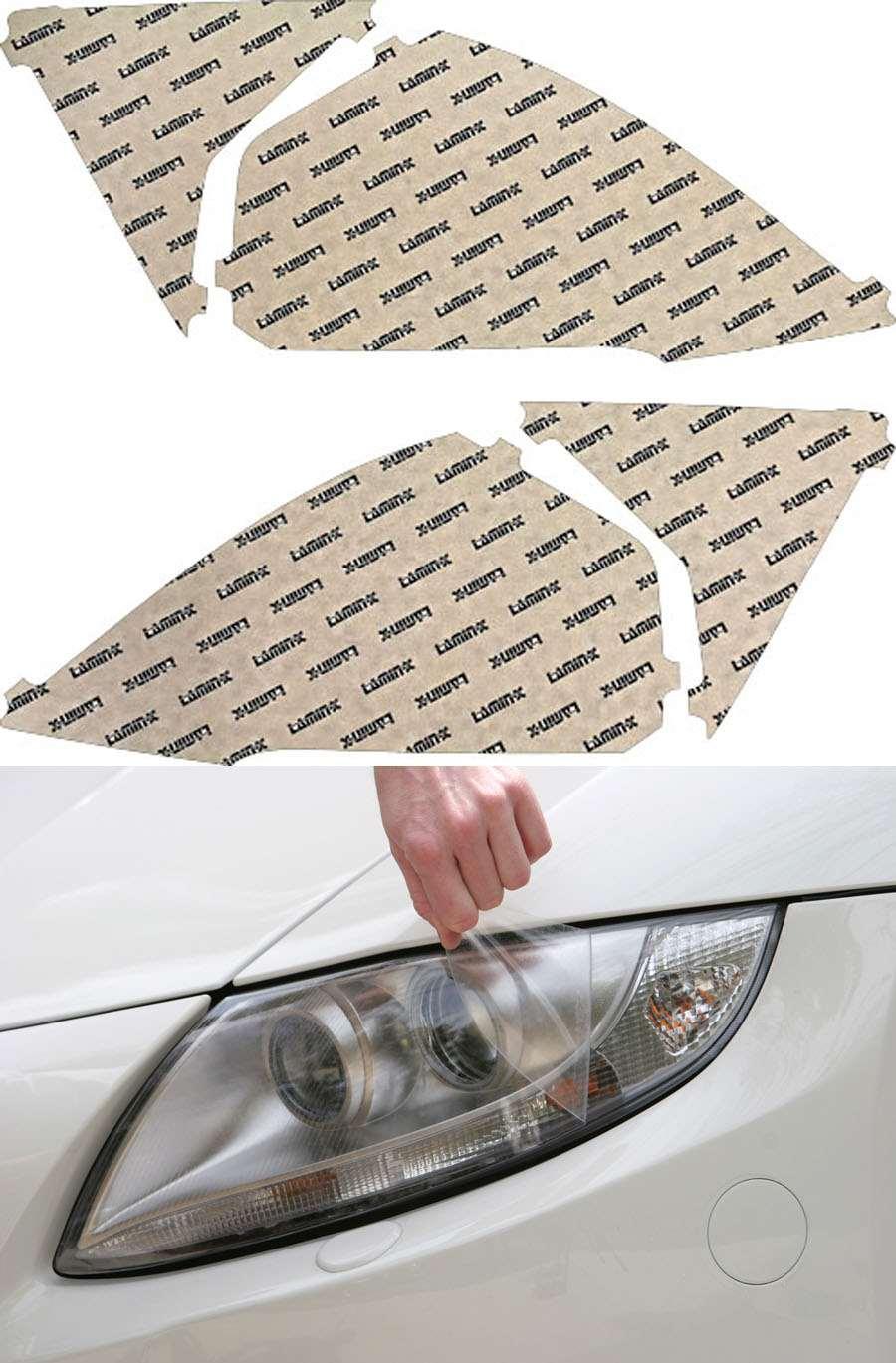 Honda CR-V 10-11 Clear Headlight Covers Lamin-X H038CL