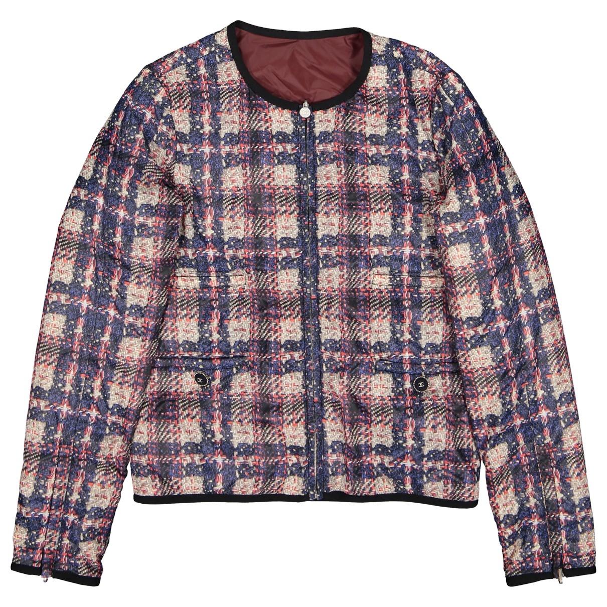 Chanel \N Burgundy jacket for Women 36 FR