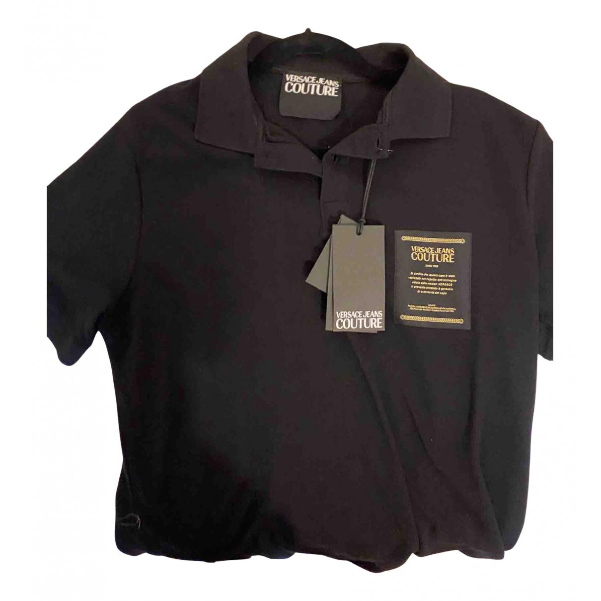 Versace Jeans \N Poloshirts in  Schwarz Baumwolle