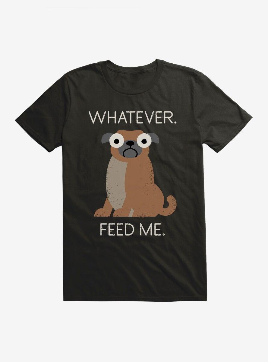 David Olenick Feed Me Pug T-Shirt
