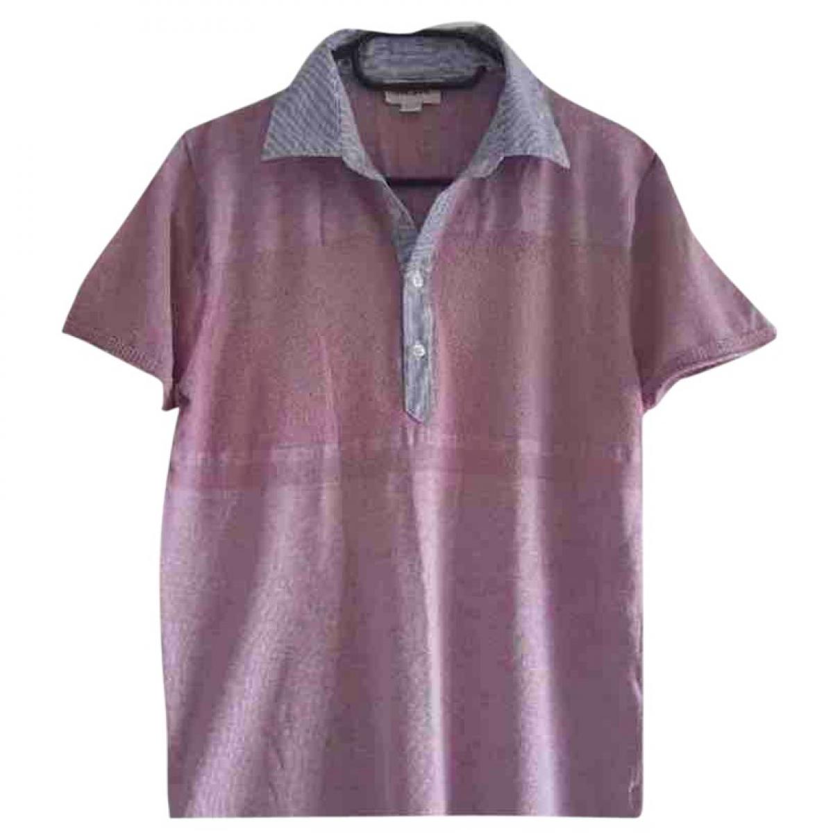 Diesel - Polos   pour homme en coton - rose