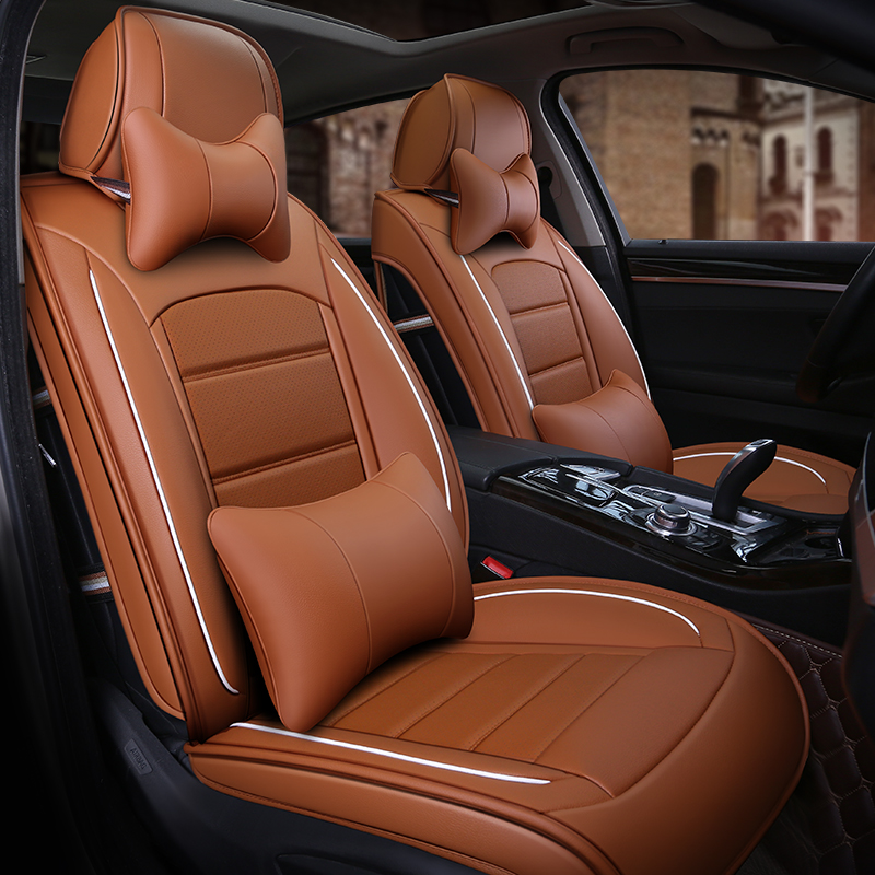 Distinctive Sport Style Soft Comfortable Luxurious Custom Car Seat Covers Anti-skid Wear-resistant Dirt-resistant Durable And Breathable