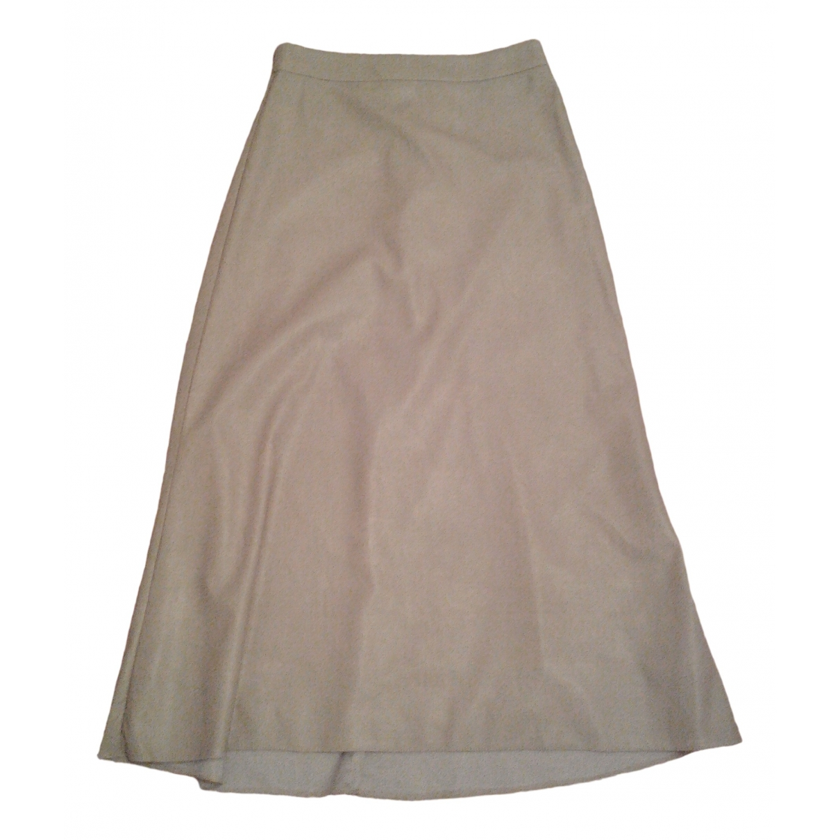 Non Signe / Unsigned \N Rocke in  Beige Polyester