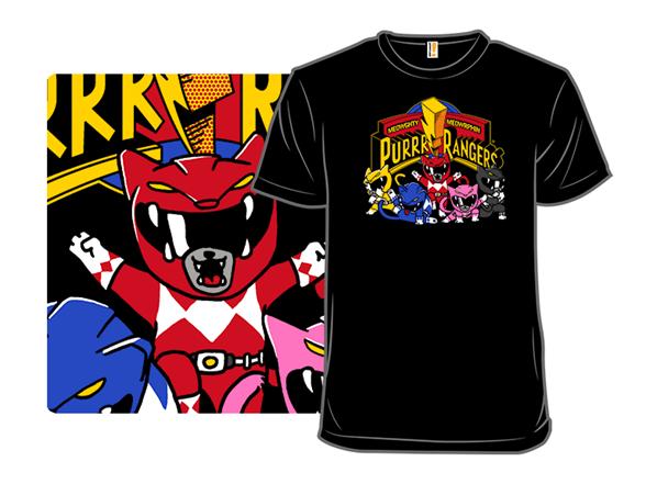 Purrr Rangers T Shirt