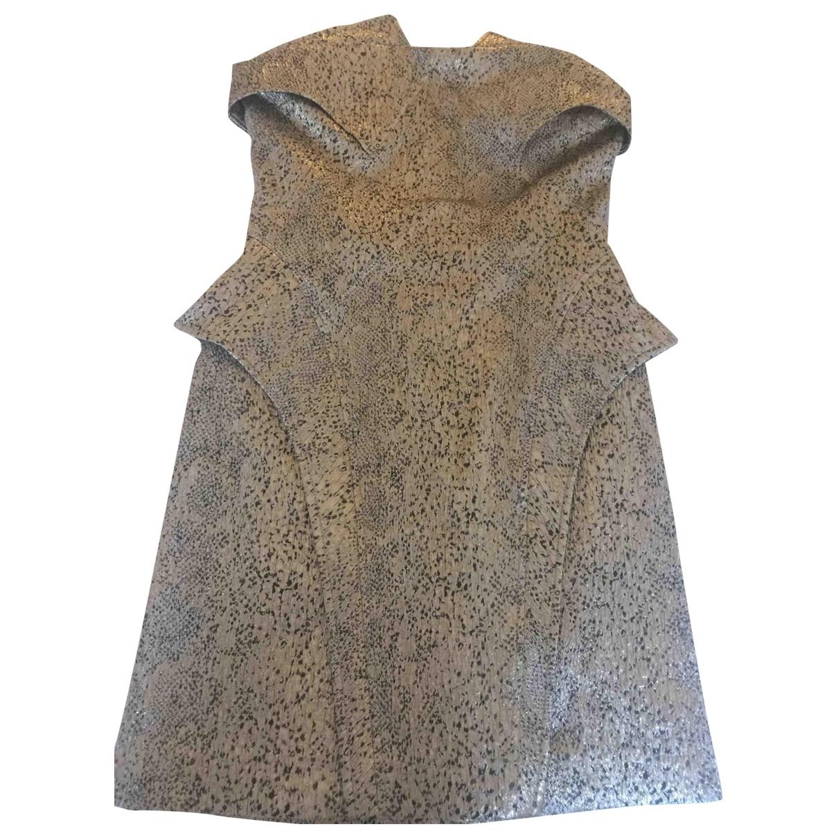Faith Connexion \N Gold dress for Women 36 FR