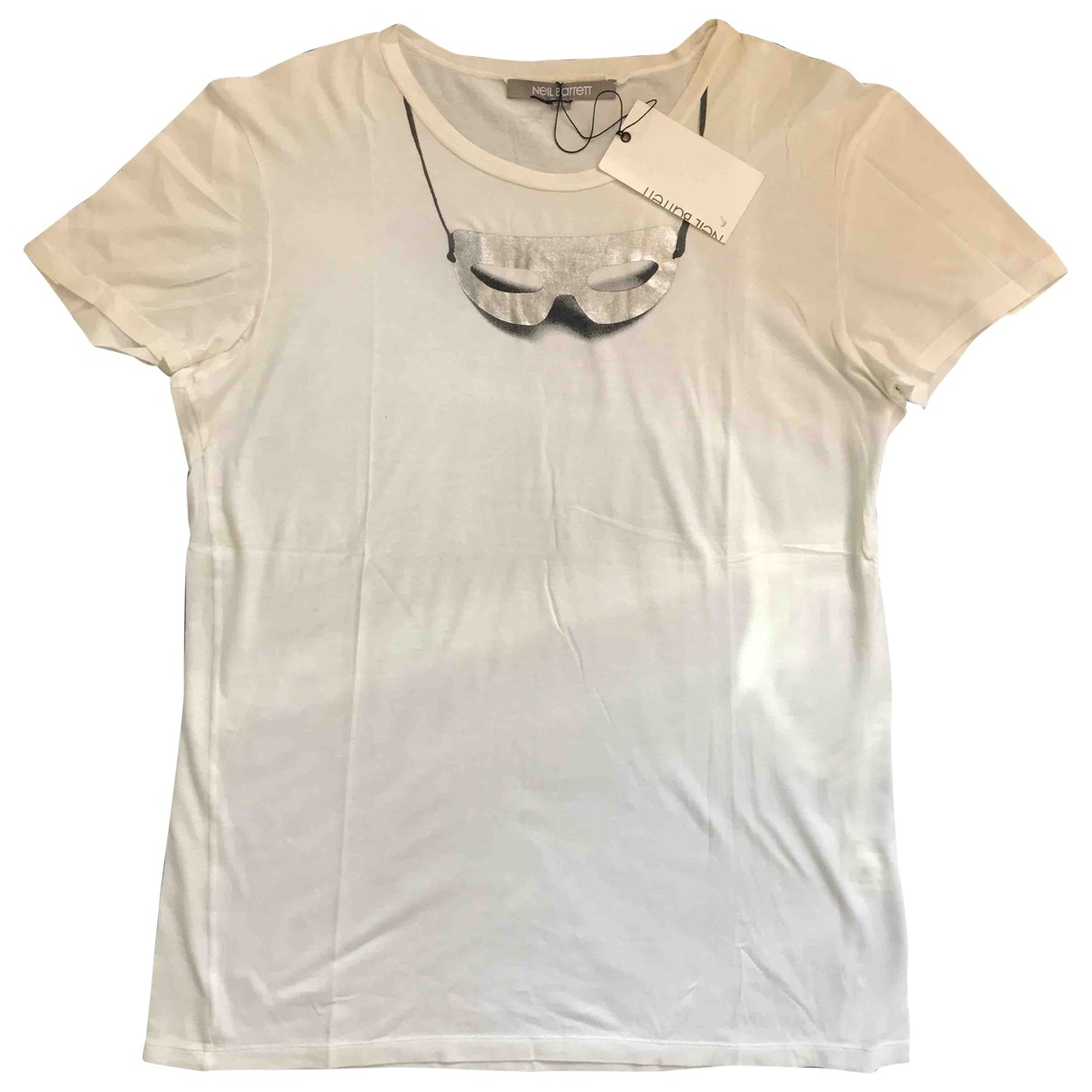 Neil Barrett \N White Cotton T-shirts for Men L International