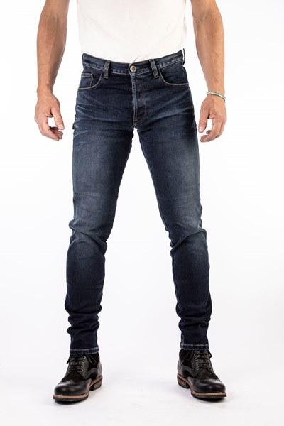 ROKKER Rokkertech Slim Jean De Moto Bleu Fonce L36/W34