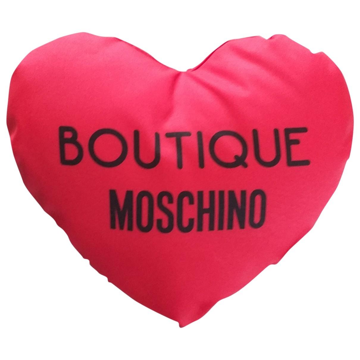 Moschino - Linge de maison   pour lifestyle - rouge