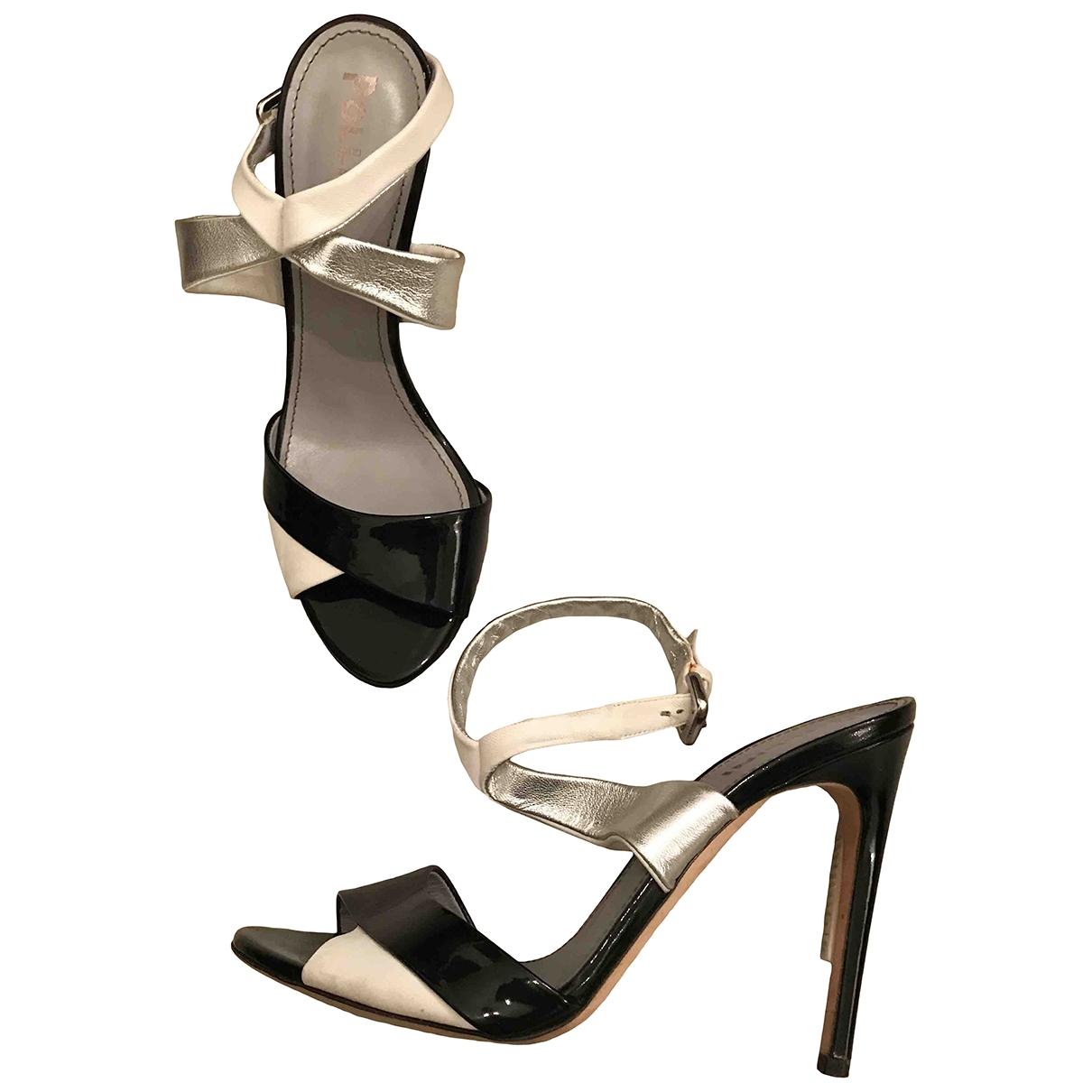Sandalias de Charol Pollini