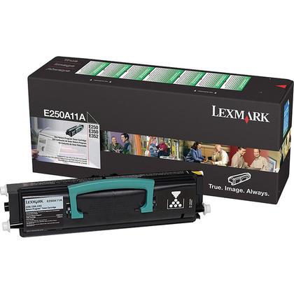 Lexmark E250A11A Original Black Return Program Toner Cartridge