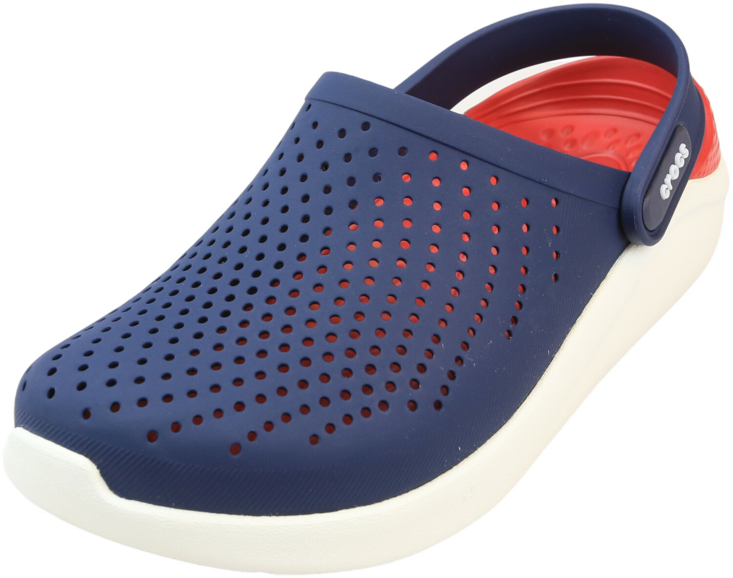 Crocs Literide Clog Navy / Pepper Ankle-High Rubber Clogs - 11W 9W