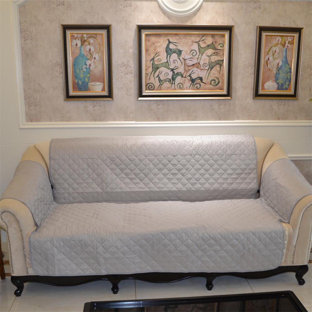 Cool European Style Geometric Pattern Slip Resistant Sofa Cover