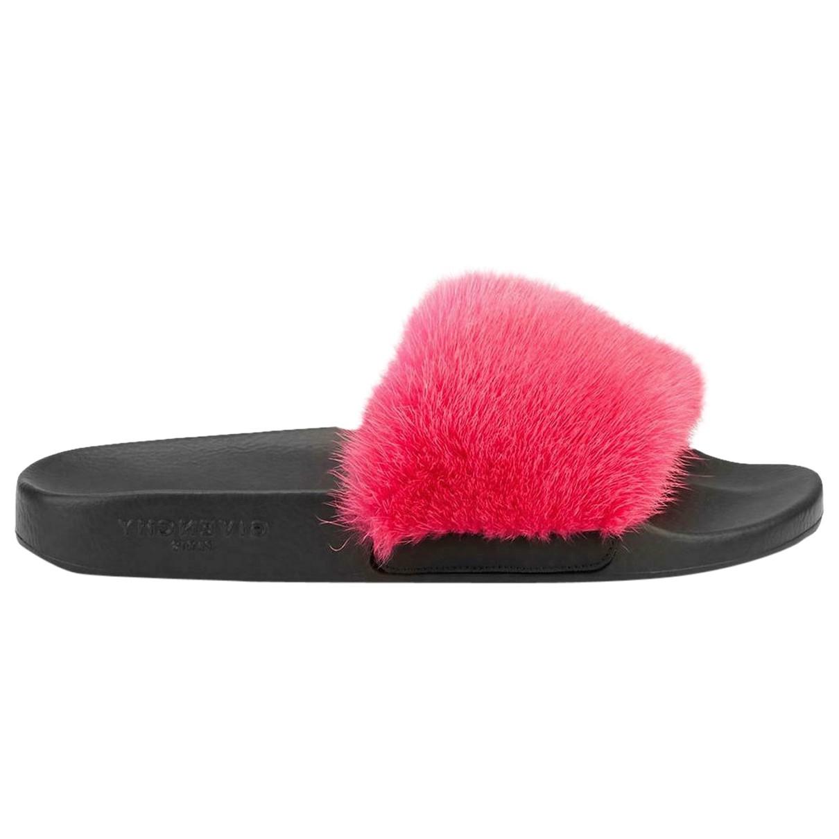 Givenchy - Sandales   pour femme en vison - rose