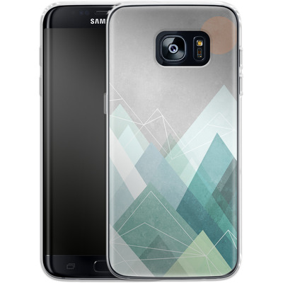 Samsung Galaxy S7 Edge Silikon Handyhuelle - Graphic 107 X von Mareike Bohmer