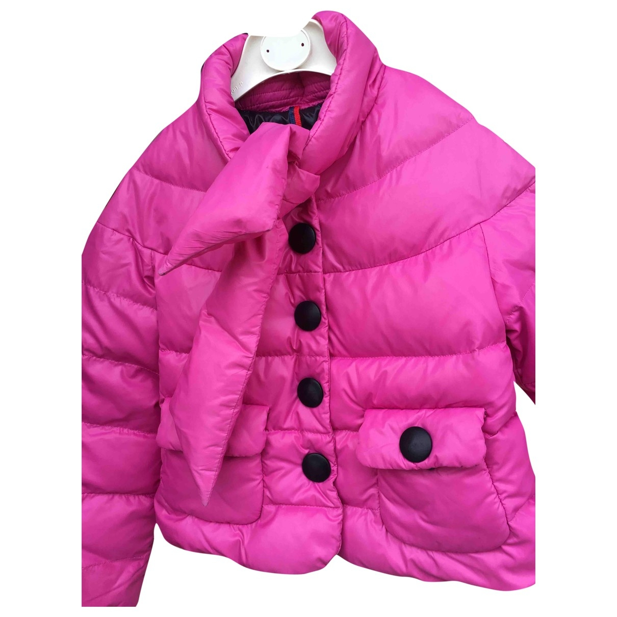 Moncler \N Pink Polyamide jacket & coat for Kids 8 years - until 50 inches UK