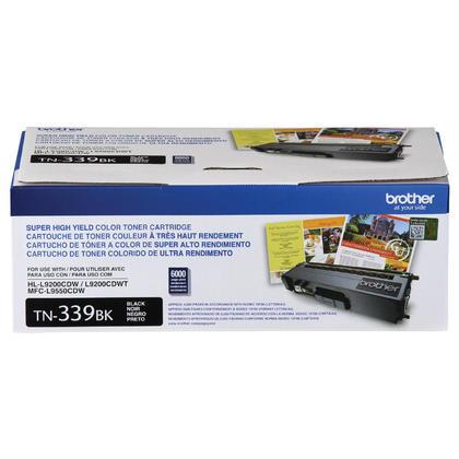 Brother TN339BK Original Black Toner Cartridge Extra High Yield