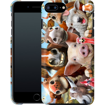Apple iPhone 7 Plus Smartphone Huelle - Farm Selfie von Howard Robinson