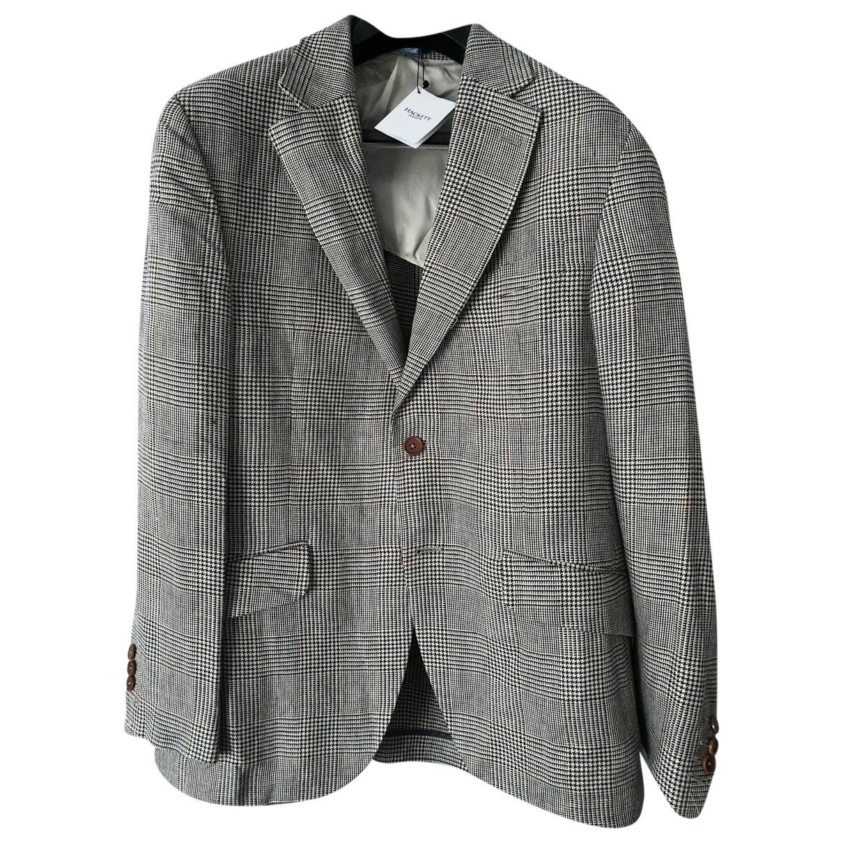 Hackett London \N Beige Wool Suits for Men XL International