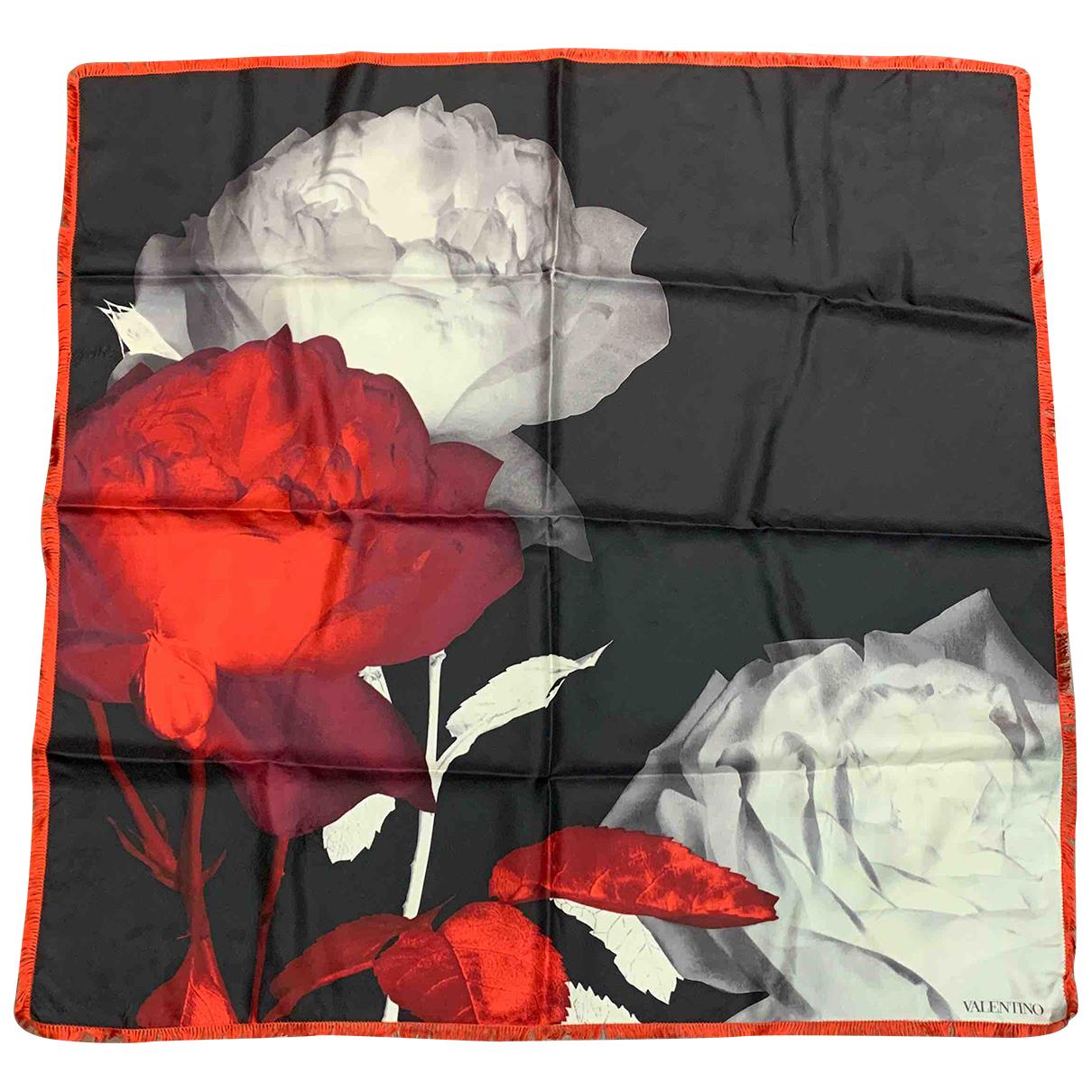 Valentino Garavani - Foulard   pour femme en autre - rouge