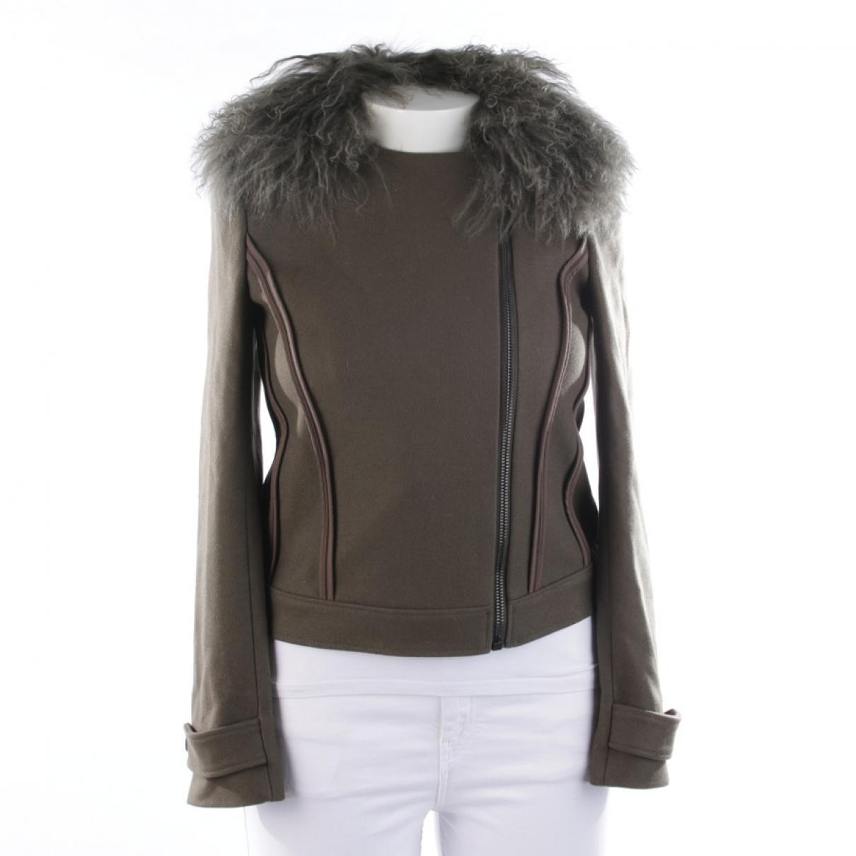 Joseph \N Green Wool jacket for Women 40 FR