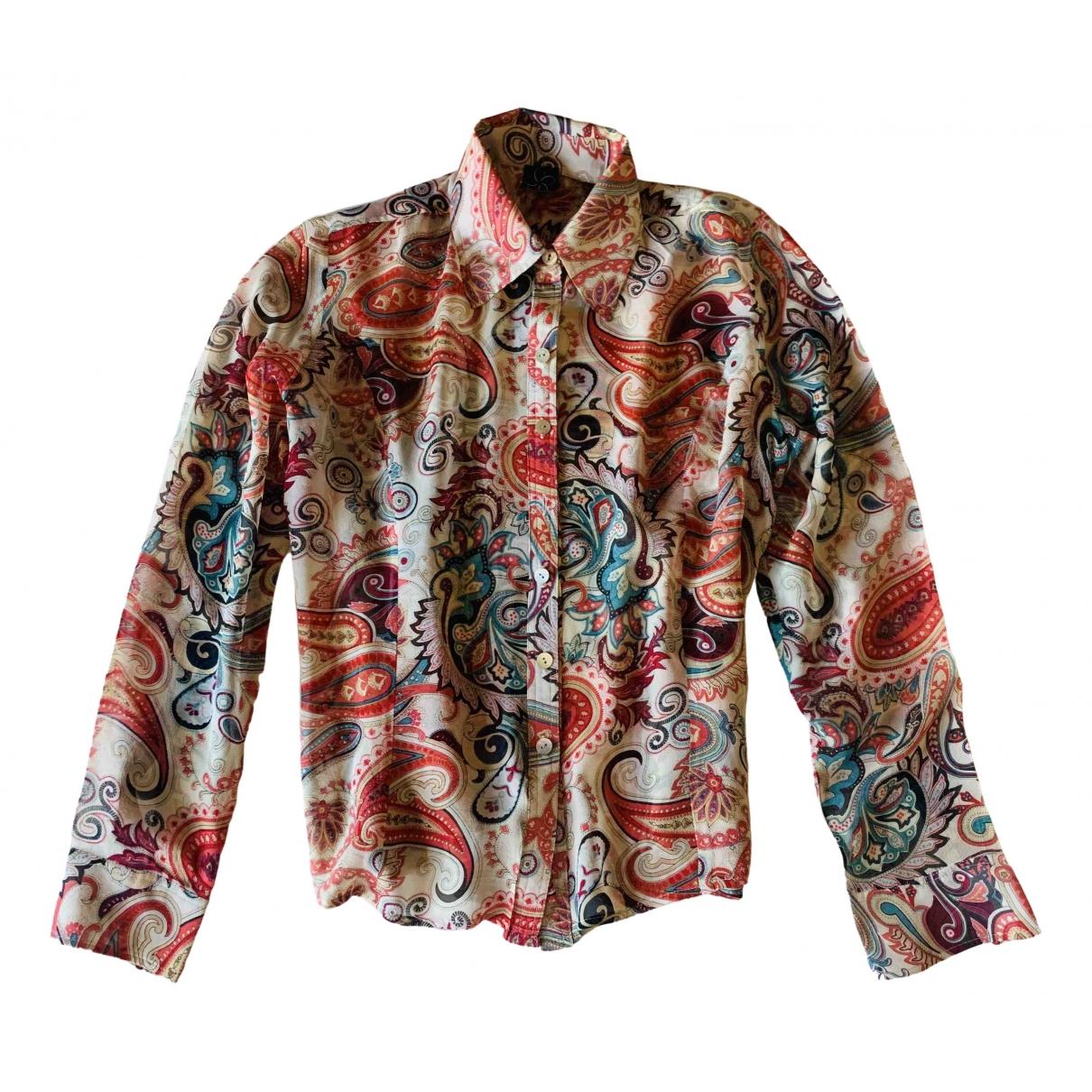 Non Signé / Unsigned \N Multicolour Silk  top for Women L International