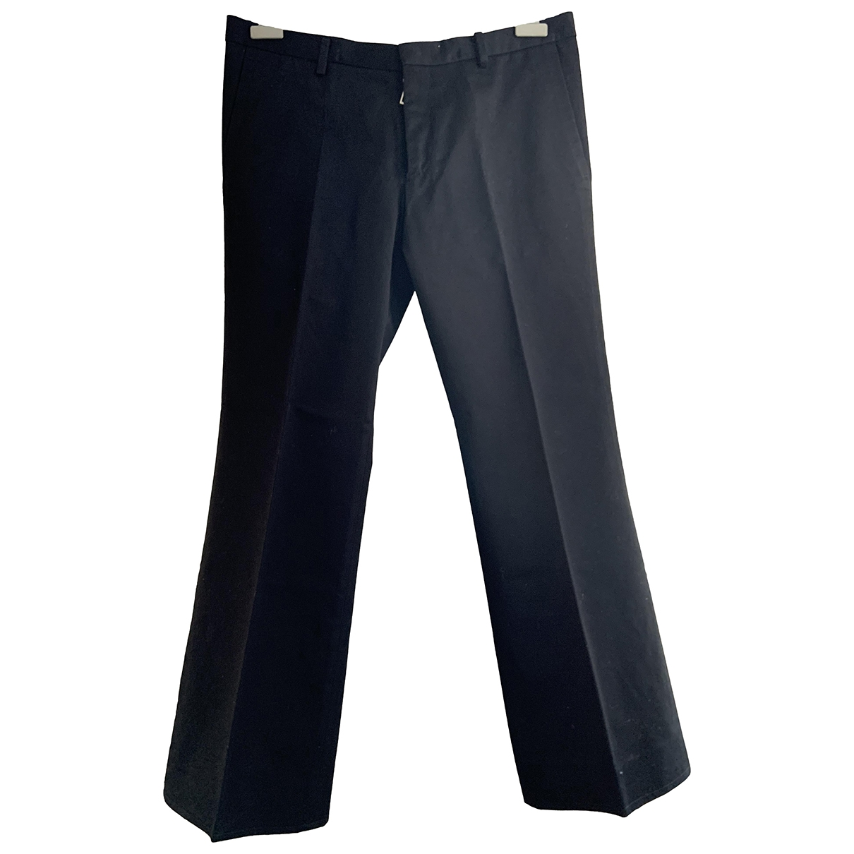 Pantalones en Algodon Negro Dsquared2