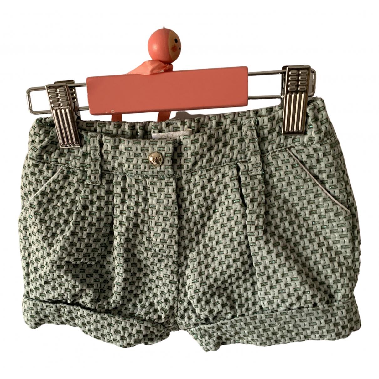 Chloe \N Shorts in  Blau Baumwolle