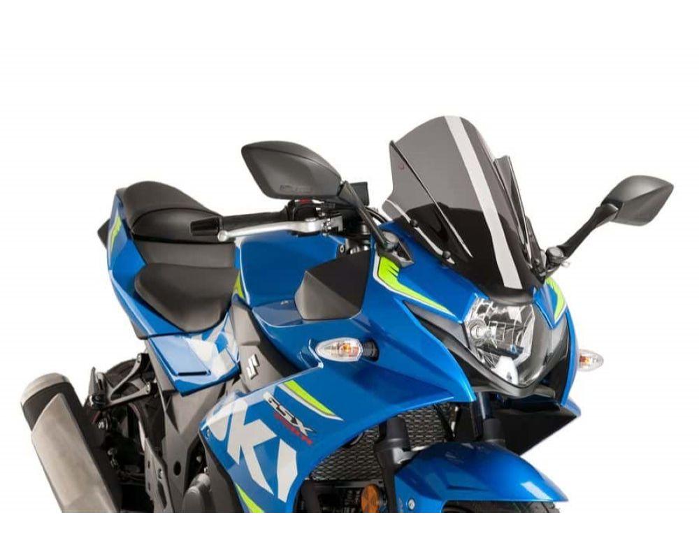 Puig 9722F Racing Windscreen - Dark Smoke Suzuki GSX-R250 2017
