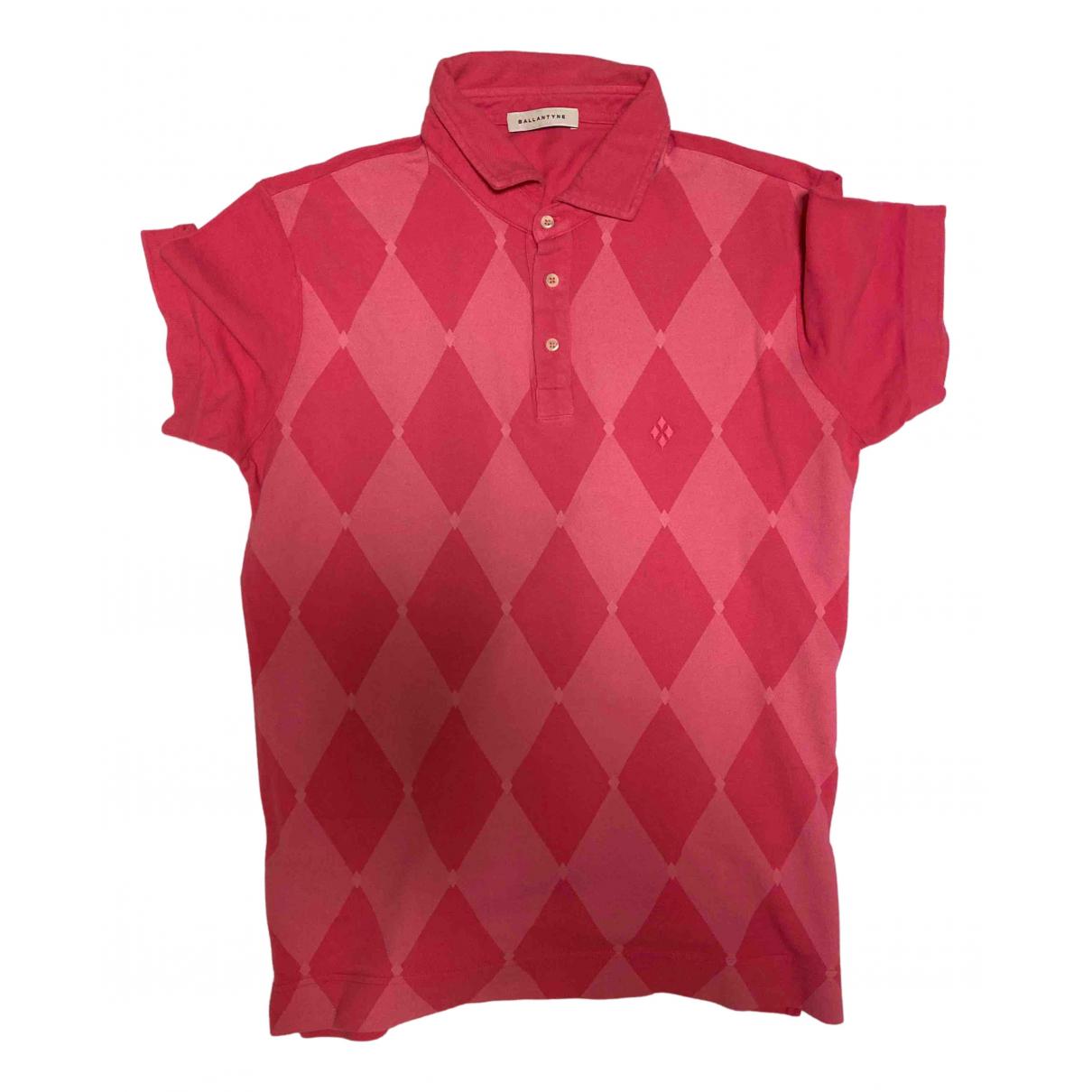 Ballantyne \N Poloshirts in  Rosa Baumwolle