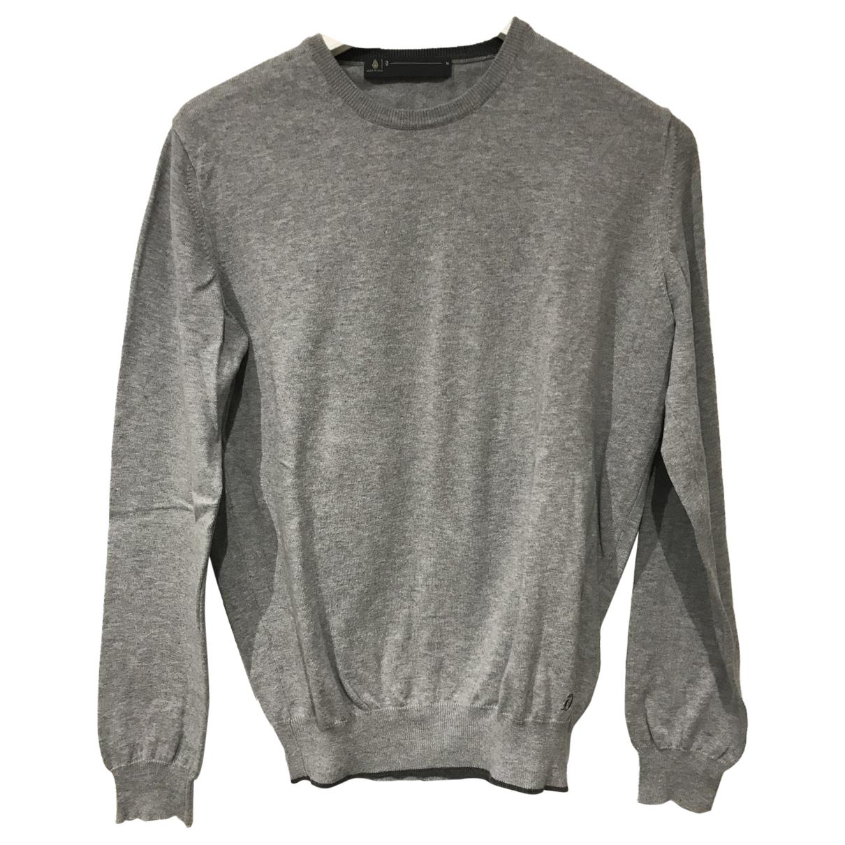 Dondup \N Pullover.Westen.Sweatshirts  in  Grau Baumwolle