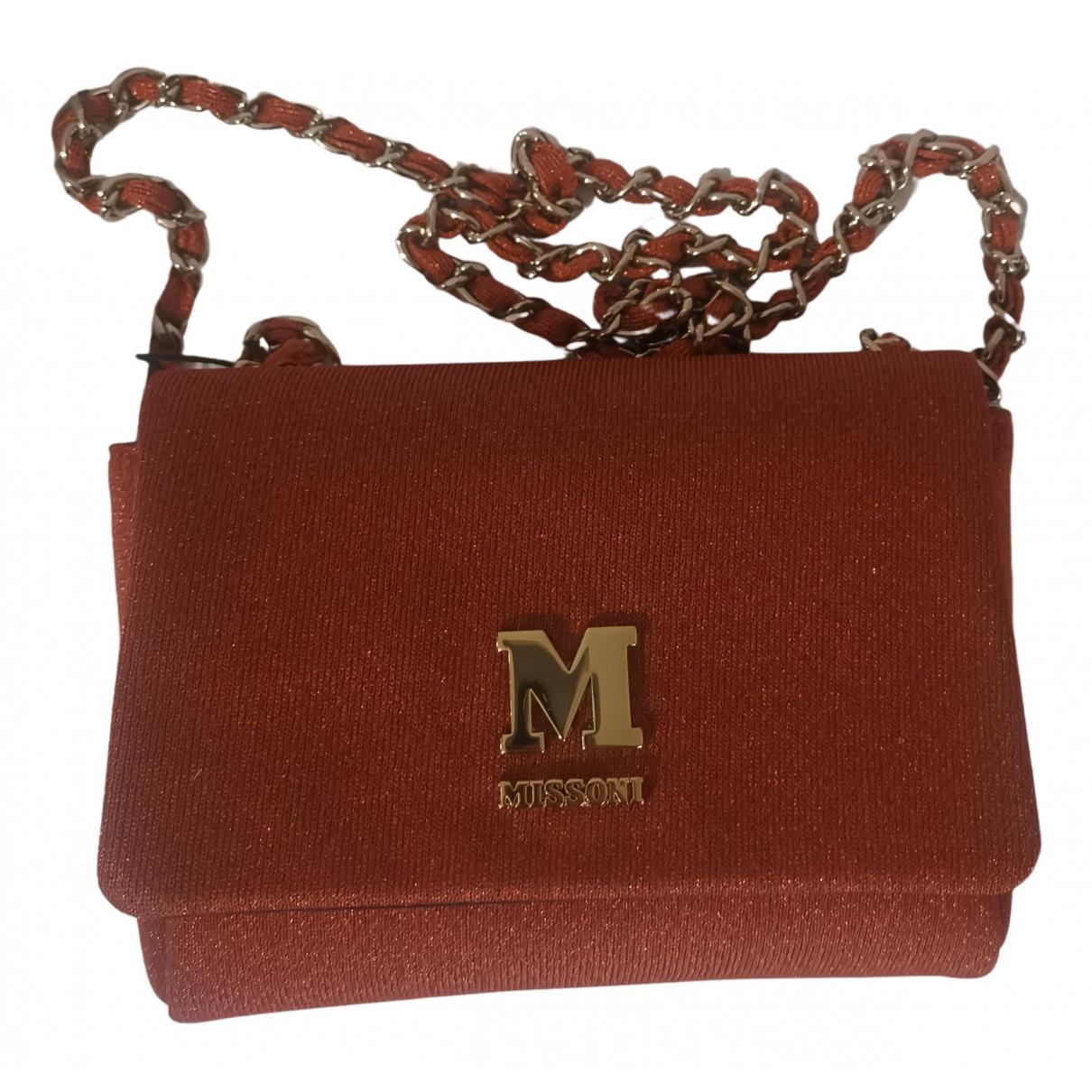 M Missoni \N Handtasche in  Orange Polyester