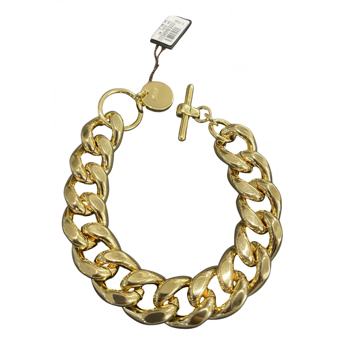 - Bracelet Gourmette pour femme en metal - dore
