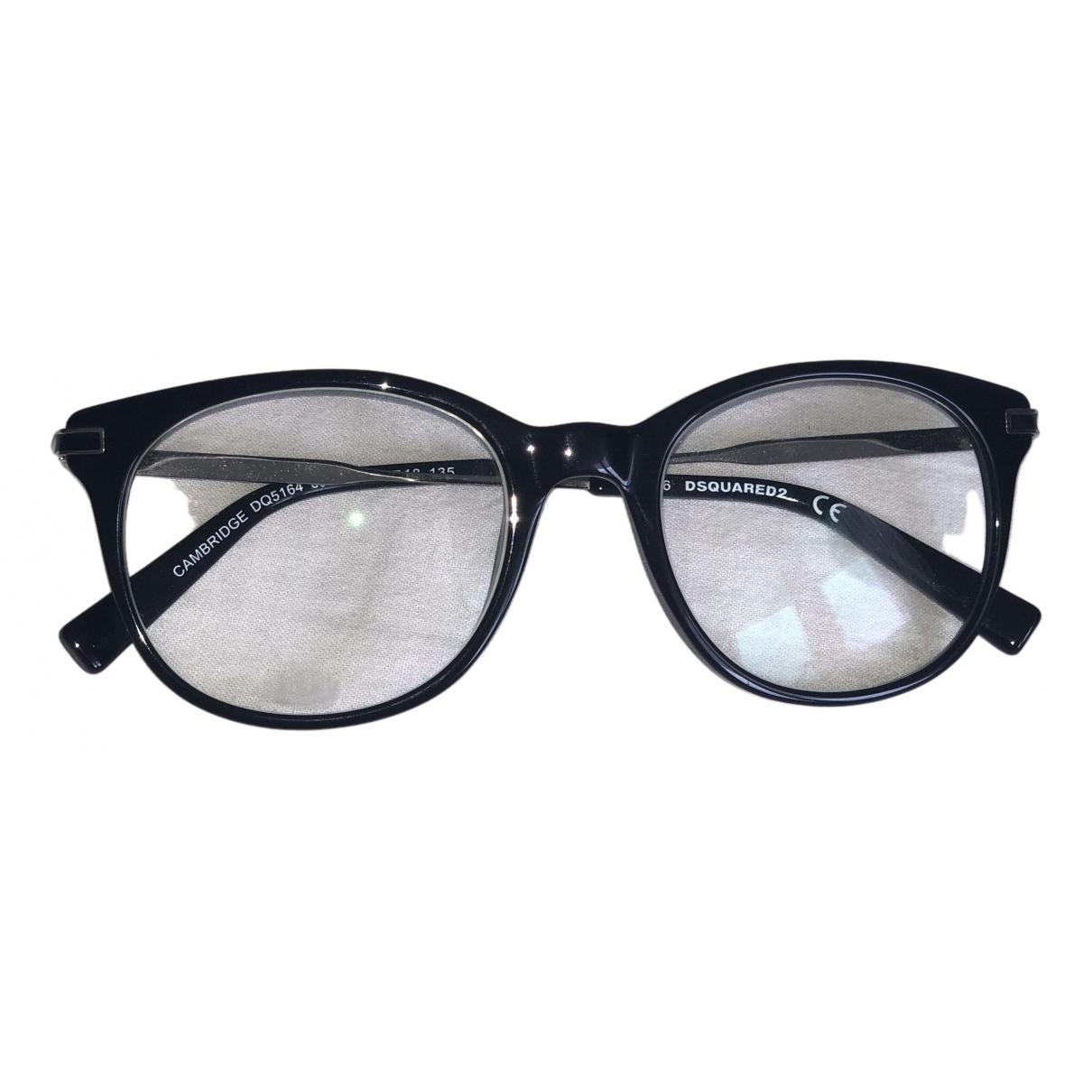 Dsquared2 N Black Metal Sunglasses for Women N