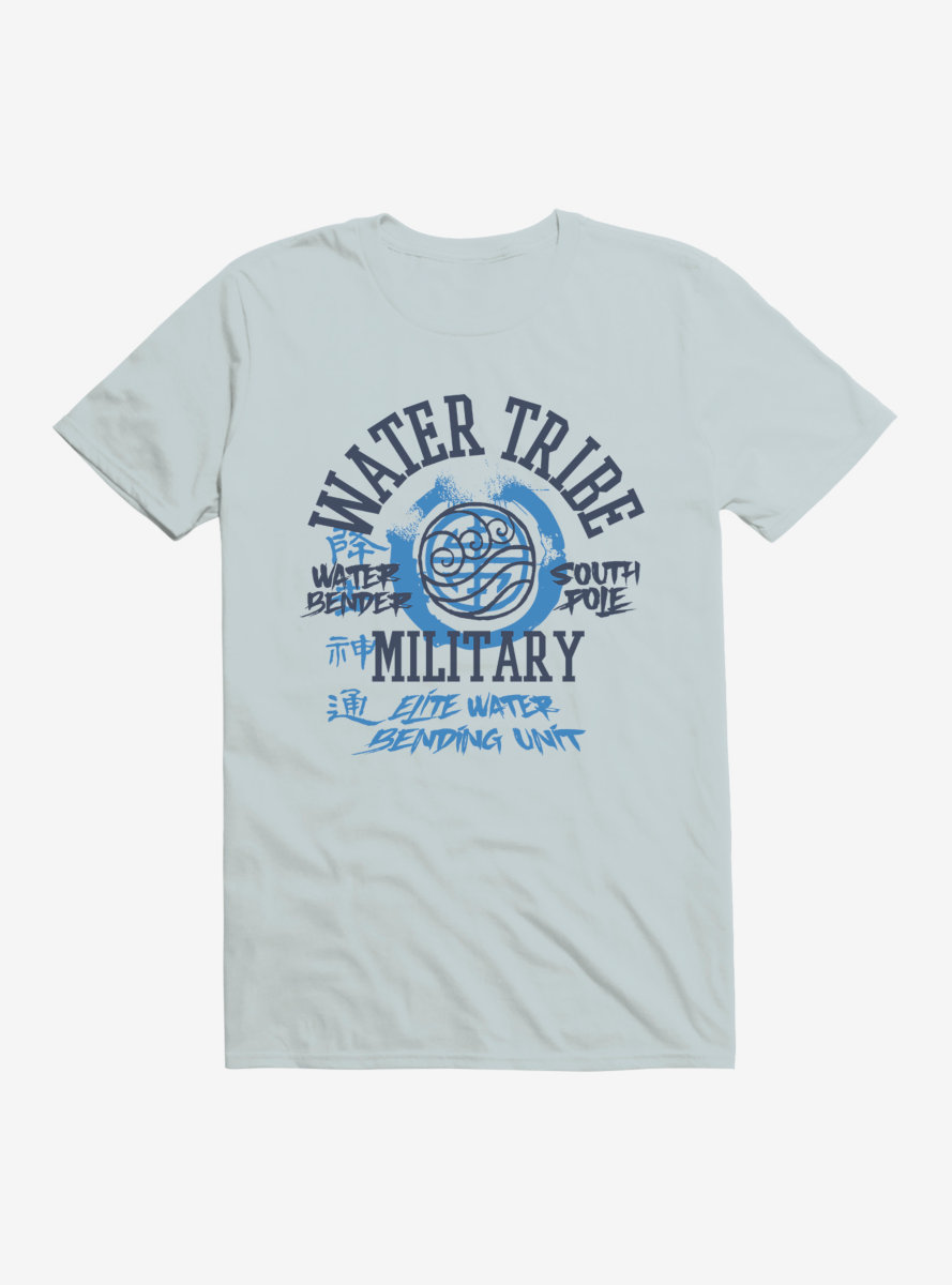 Avatar: The Last Airbender Water Tribe South Pole T-Shirt