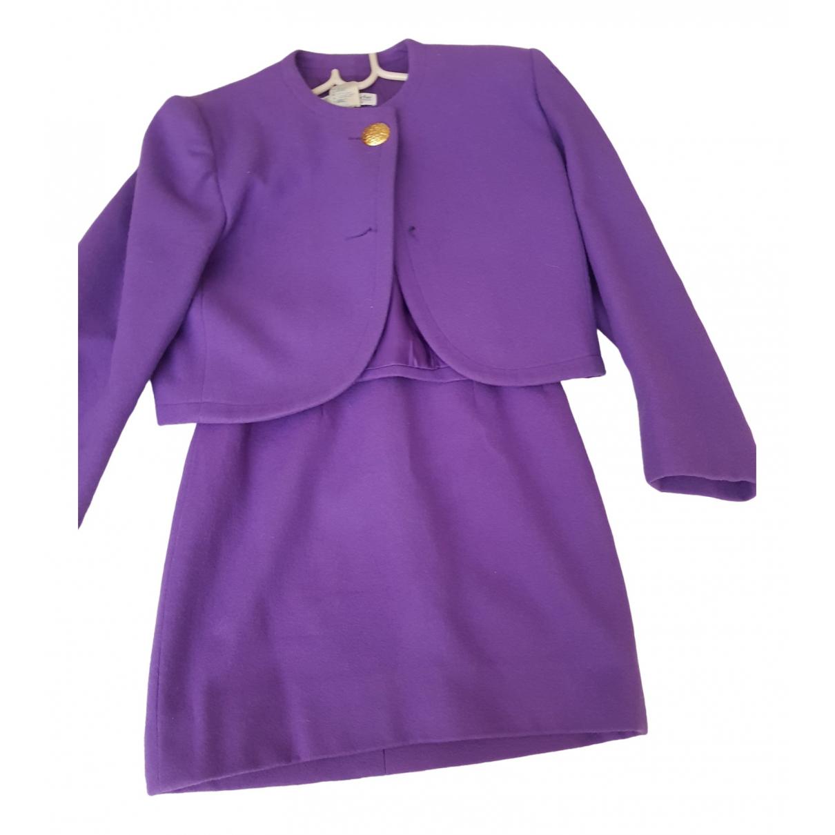 Guy Laroche - Veste   pour femme en laine - violet