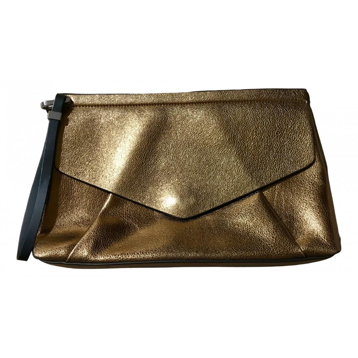 Zara N Metallic Clutch bag for Women N